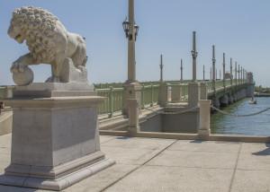 The Lion & His Bridge, Awaiting Their Flags